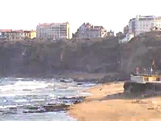 Biarritz webcam view