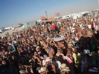 Burning man web cam