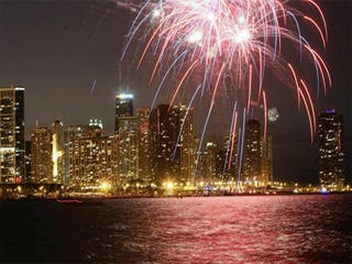 Sears tower fireworks live feed