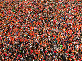 Queen's Day Amsterdam web cam