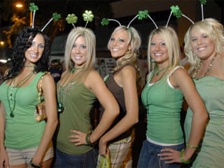 St Patricks day Las Vegas