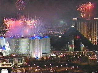 New Year in vegas live feed