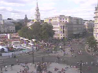 Trafalgar Square webcam