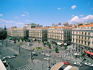 Puerto del sol square webcam feed madrid city centre live stream - Webcam puerta del sol ...