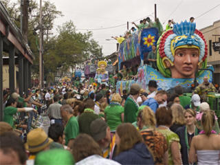 New Orleans St Patrick's Day Parade Live Stream, Online Feed