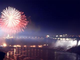 Niagara Falls New Year's Eve Fireworks Live Stream, NYE Concert, ...