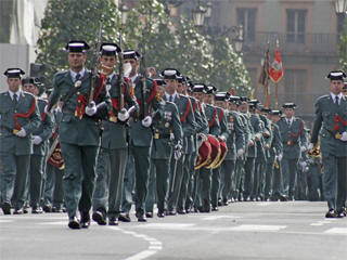 Spanish national day parade