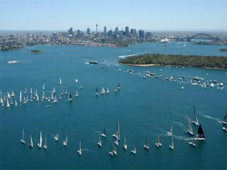 Sydney to Hobart live web cam feed