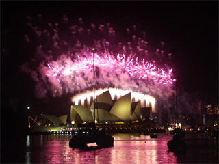 Sydeny New Year fireworks live