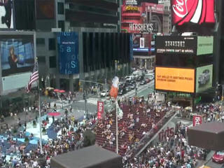Times Square Webcam - Live New York City Web Cam