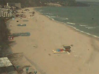 Albena webcam - Albena Beach webcam, Black Sea, Bulgarian Black Sea Coast
